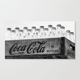 Bottles of Coke. Canvas Print