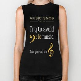 AVOID Bass-ic Music — Music Snob Tip #310.5 Biker Tank
