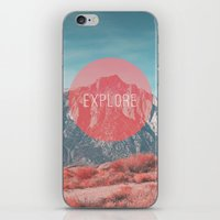 explore iPhone & iPod Skins featuring Explore by Zeke Tucker