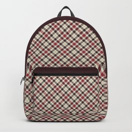 Holiday Plaid 23 Backpack
