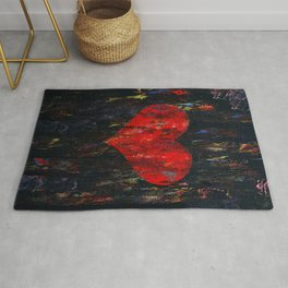 Red Heart Rug