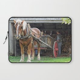 Stacking for Winter Laptop Sleeve
