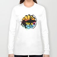surfing Long Sleeve T-shirts featuring Surfing by mark ashkenazi