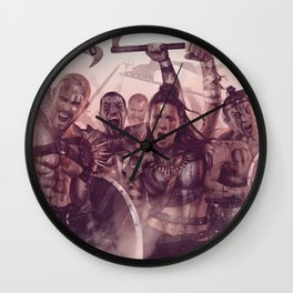 Army of Savages Wall Clock