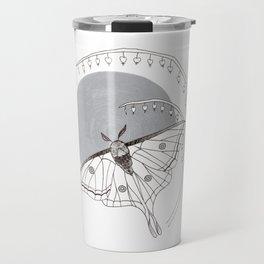 Moon Moth & Bleeding Heart Travel Mug