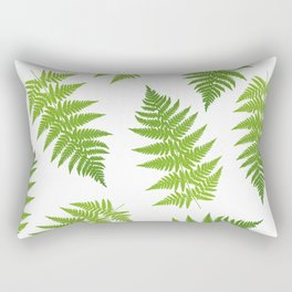 Fern seamless pattern. Rectangular Pillow