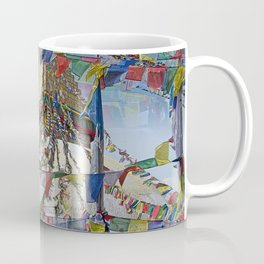 NEPALI PRAYERS CARRIED BY THE WIND FROM FLAGS Coffee Mug