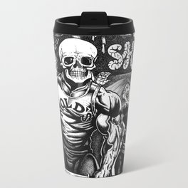 Weird Shit Metal Travel Mug