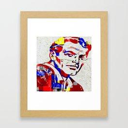 Mr. Bigstuff Framed Art Print