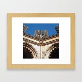 Batalha monastery, Portugal (RR 191) Analog 6x6 odak Ektar 100 Framed Art Print