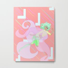 Midori Metal Print