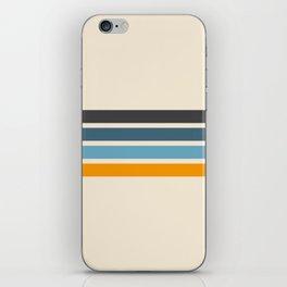Vintage Retro Stripes iPhone Skin