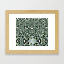 Jewelled Sage - Fractal Framed Art Print