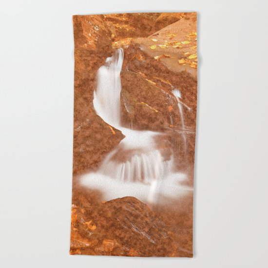 Vintage Velvet Waterfall Beach Towel