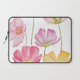 colorful cosmos flower Laptop Sleeve
