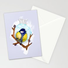 Spring birdy / Nr. 3 Stationery Cards