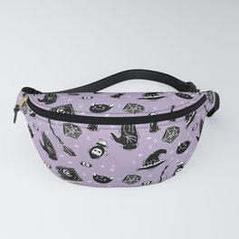 Witchy Magic on Purple Fanny Pack