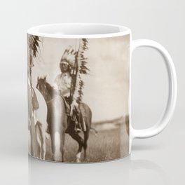 Sioux chiefs by Edward S Curtis 1905 Coffee Mug