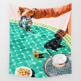 Chai #painting #digitalart Wall Tapestry