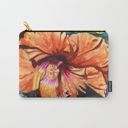 Tropical Hibiscus 9 Carry-All Pouch