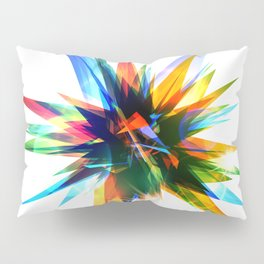 Colorful abstract star Pillow Sham