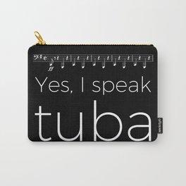 Tuba oompas (black) Carry-All Pouch