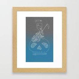DETH Framed Art Print