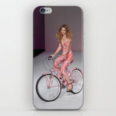 Girls on Bikes iPhone & iPod Skin