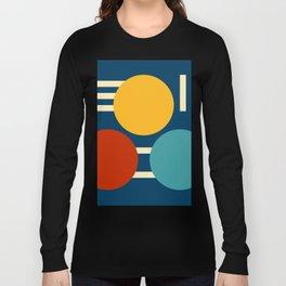 Three circles and lines Long Sleeve T-shirt