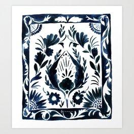 Nadia Flower Art Print