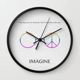 Imagine 01 Wall Clock