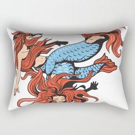 Mermaid Trinity Rectangular Pillow