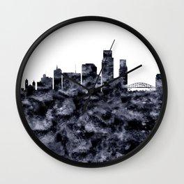 Corpus Christi Texas Wall Clock