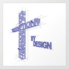 By Design Art Print