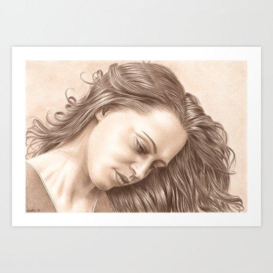 In her thoughts by aureliaart