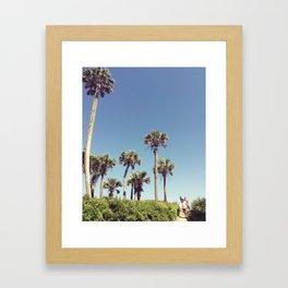 Edisto Surfers Framed Art Print