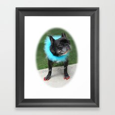 Diva Dog Framed Art Print