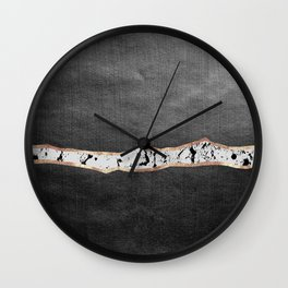 Mystical Night #1 #abstract #decor #art #society6 Wall Clock
