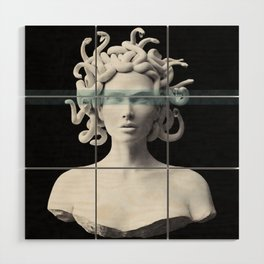Medusa Wood Wall Art