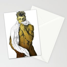 Joey - NOODDOOD (Gold not shiny) Stationery Cards