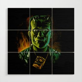 Party Monster Wood Wall Art