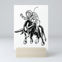 Rodeo Supernaut Mini Art Print