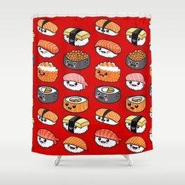 Sushi family Shower Curtain