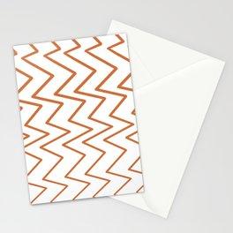 listras zigzag Stationery Cards
