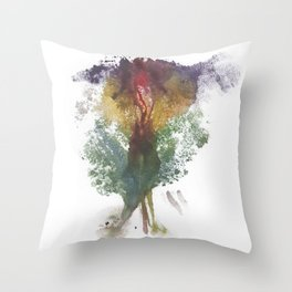 Devon's Vulva Print No.3 Throw Pillow