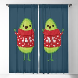 AVO MERRY CHRISTMAS Blackout Curtain