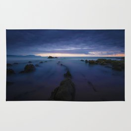Long Exposure Shore (Color) Rug