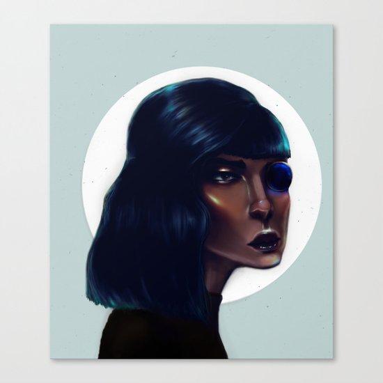 Mod Monocle Canvas Print