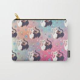 Luna  e Artemis Pattern New Version Carry-All Pouch