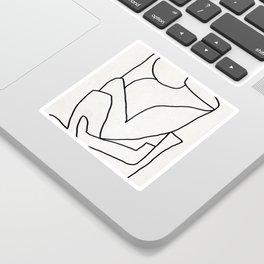 Abstract line art 2 Sticker